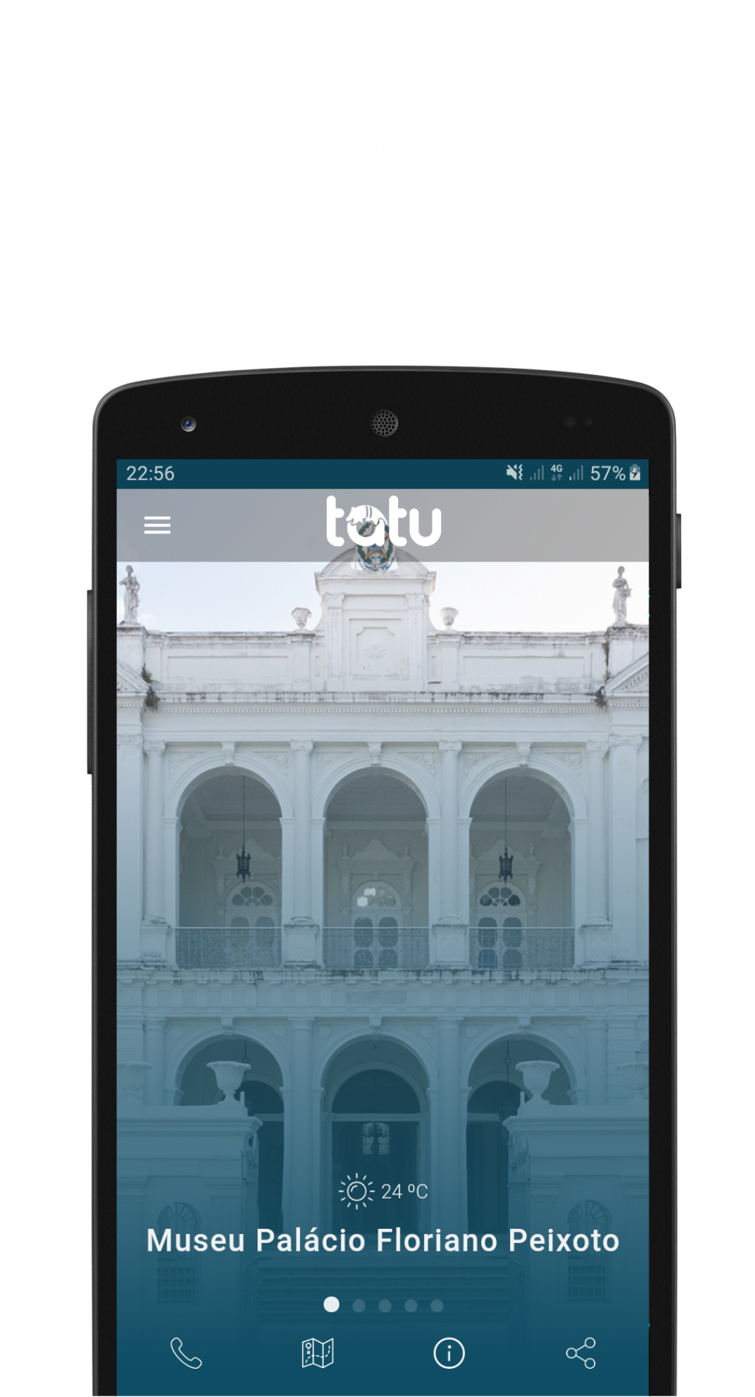 Screenshot APP TATU